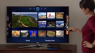 Cara pembelian mengunakan Samsung Smart TV