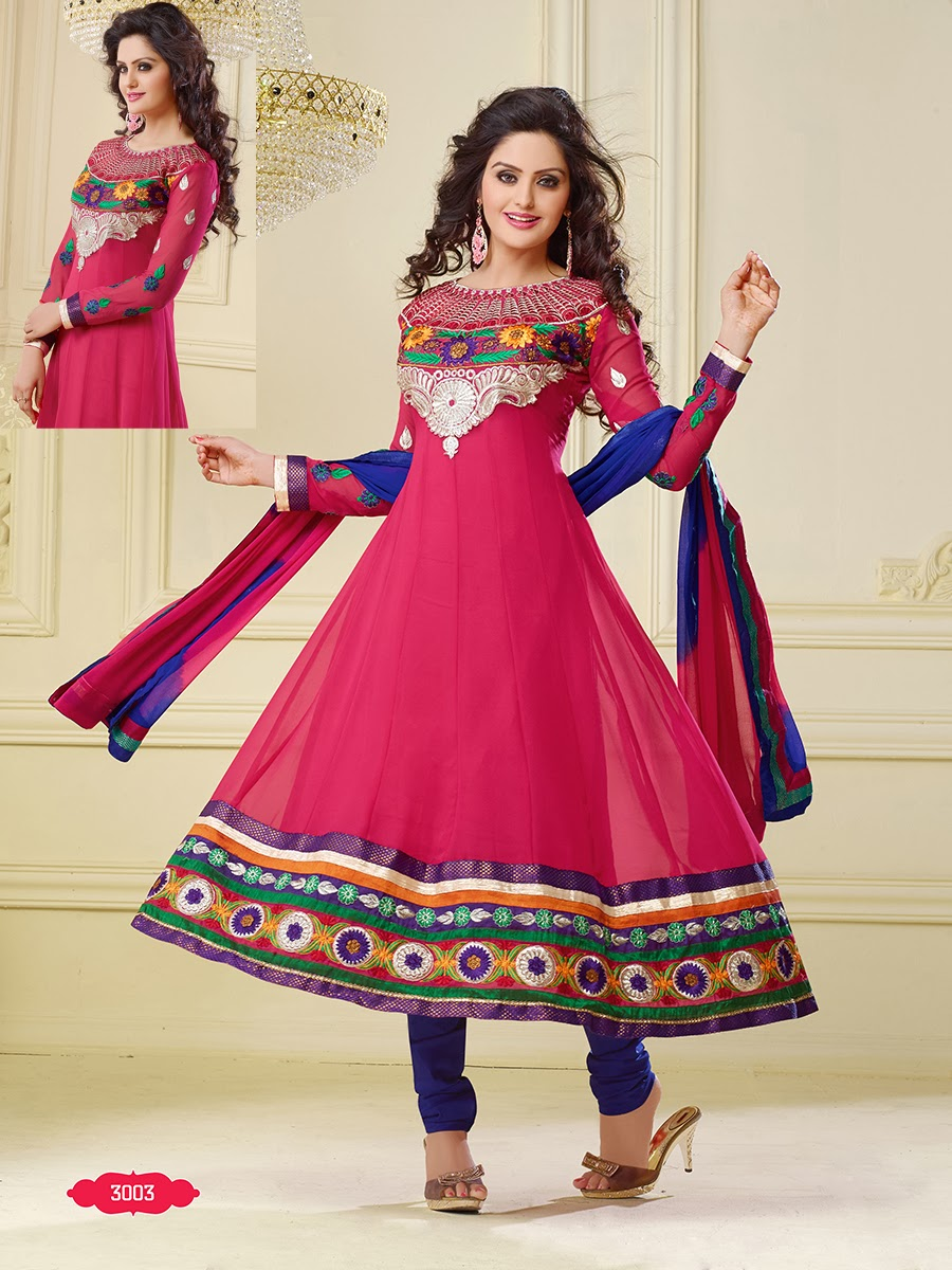 Shop online anarkali suits new embroidered designer for Online suit builder