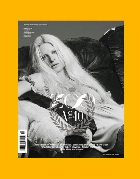 Kristen McMenamy by Dancian for Zoo Magazine No.40