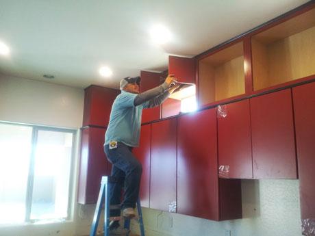 Phoenix Kitchen Remodel Cabinet Installation