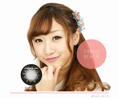 Tango Black Contact Lenses at ohmylens.com