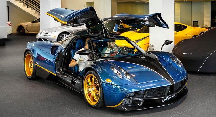 Pagani Huayra For Sale >> One-Off Pagani Huayra 730S For Sale In Beverly Hills