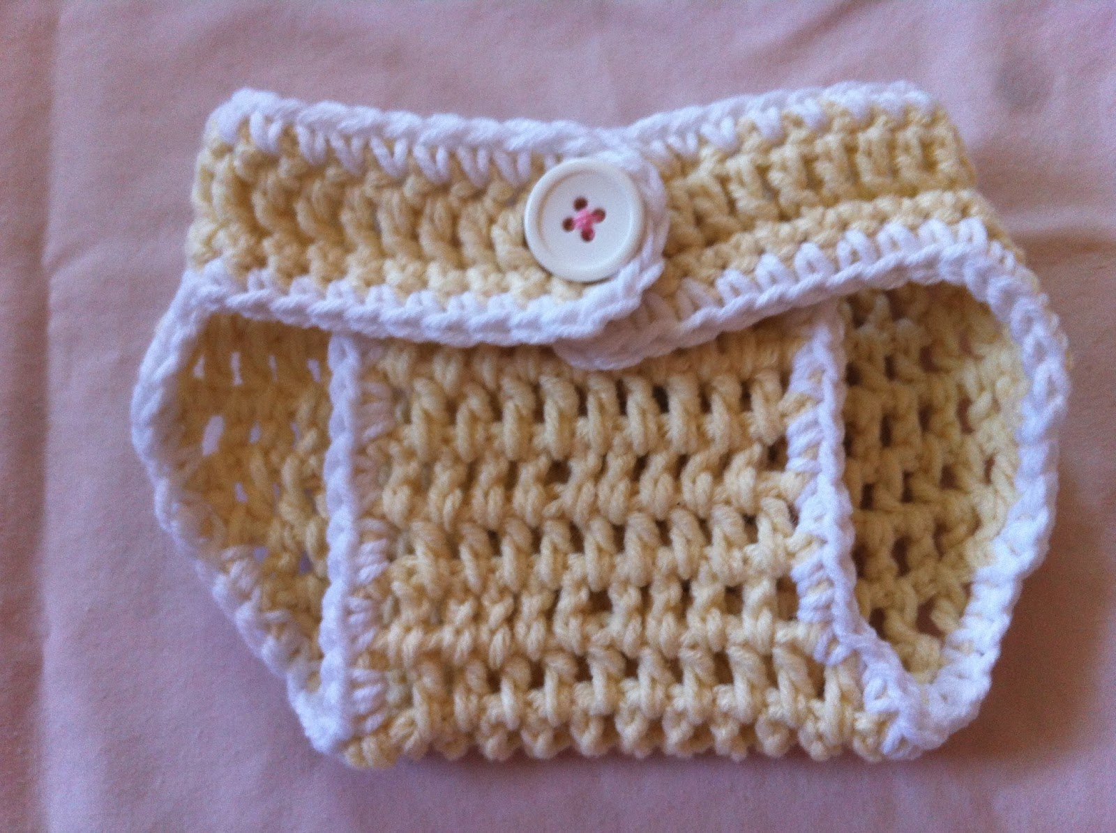 Crochet Cotton Diaper Cover - Free Pattern | Not My Nana\'s Crochet!