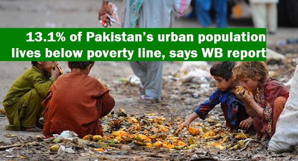 What PERCENTAGE of the world is currently living below the poverty line?