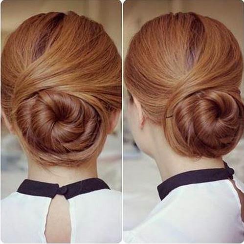 diy elegant twisted hair bun hairstyle the idea king