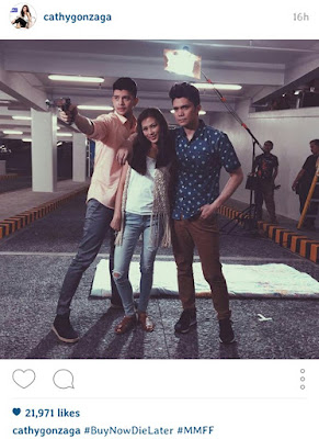 Fashion Pulis Insta Scoop Vhong Navarro Alex Gonzaga And Rayver Cruz In Mmff Entry