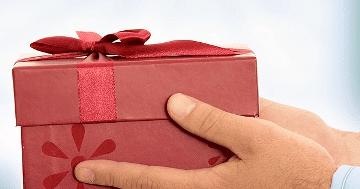 Передать подарок в другой город 1