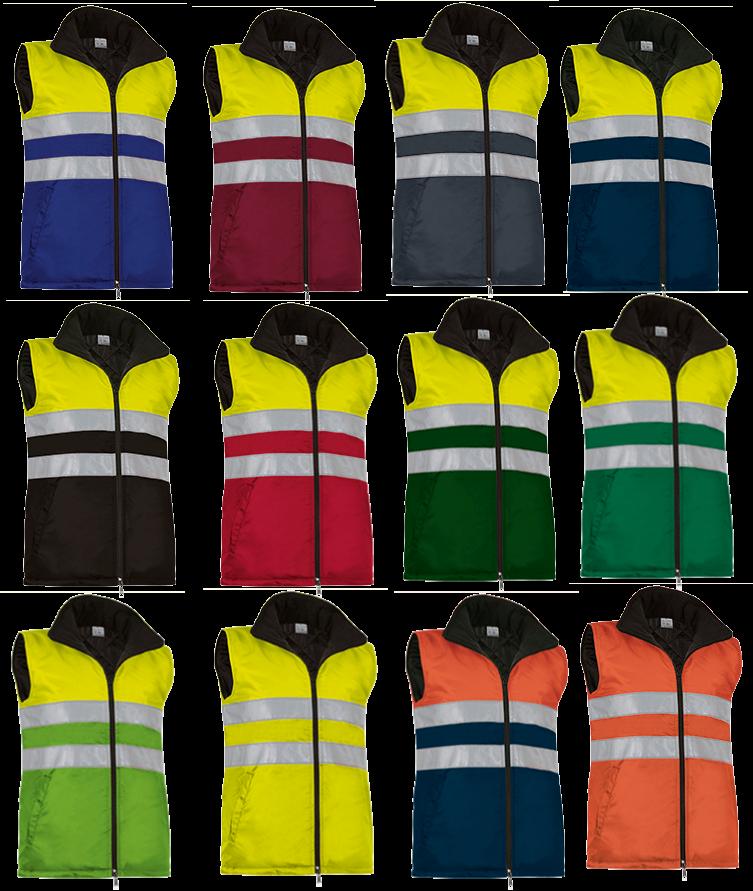 Antinfortunistica ROBERTI Blog: Abbigliamento alta visibilità bicolore