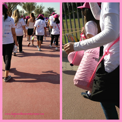 School girls at_the Pink Walkathon