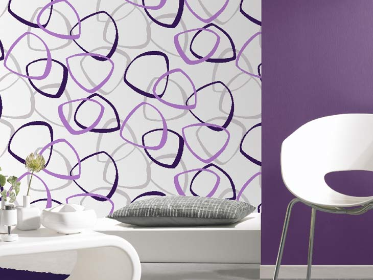 Poser Du Papier Peint Au Plafond - Pose de papier peint au plafond A.S. Création Tapeten AG