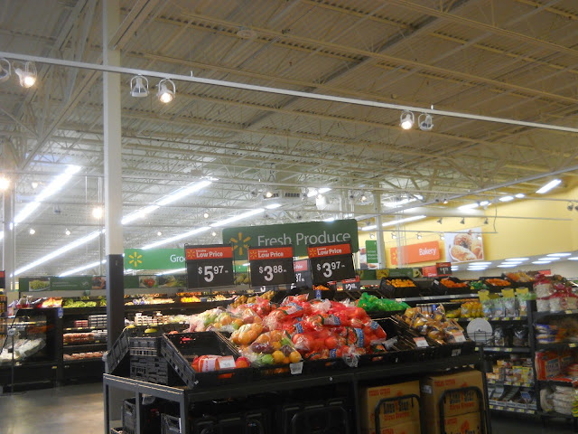 Walmart Produce Section