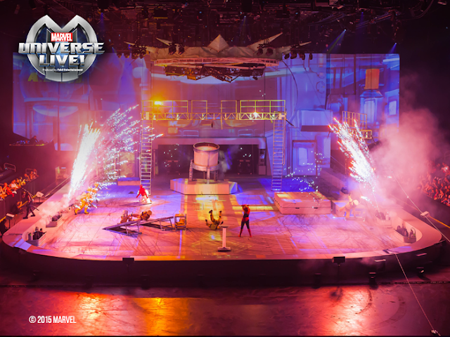 enter to win MARVEL Universe Live tickets!