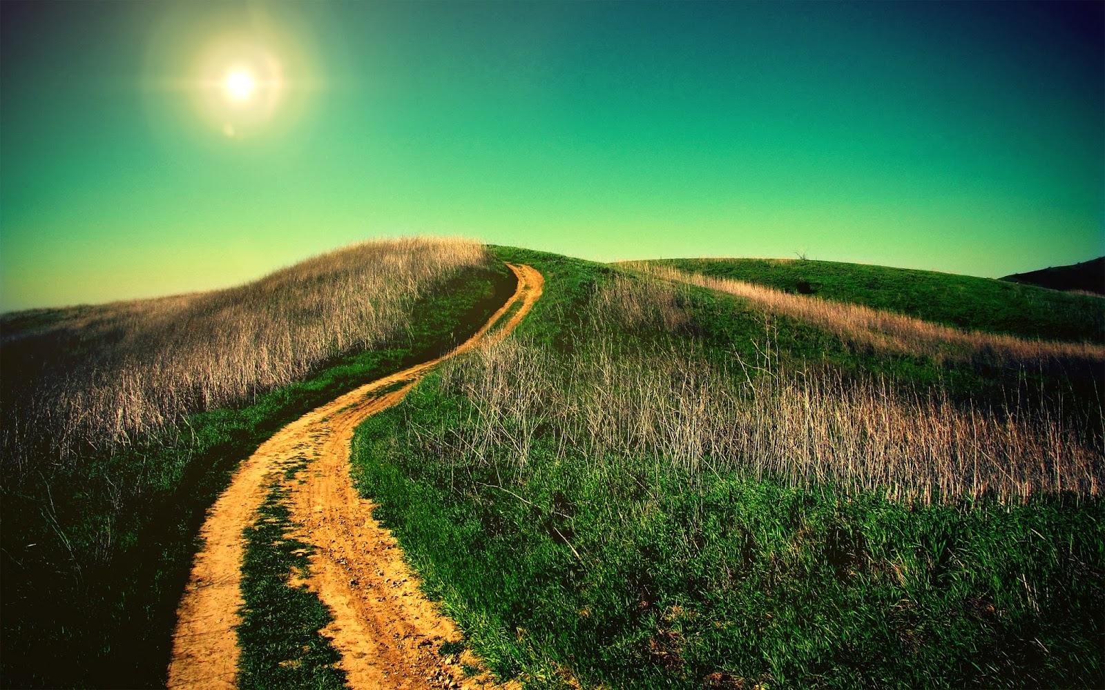 Camino cuesta arriba