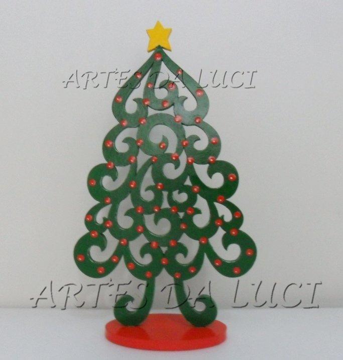 Artes Da Luci árvores De Natal Em Mdf Pintado