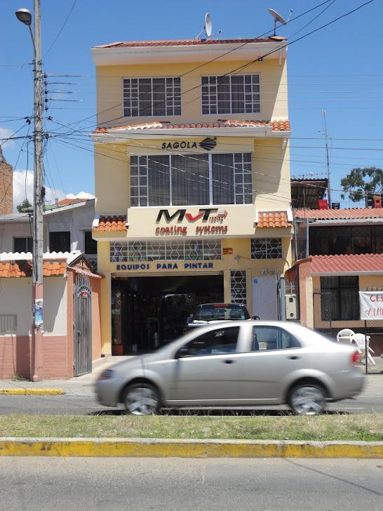 Mvtrading del Ecuador EQUIPOS PARA PINTAR Y PINTURA EN POLVO