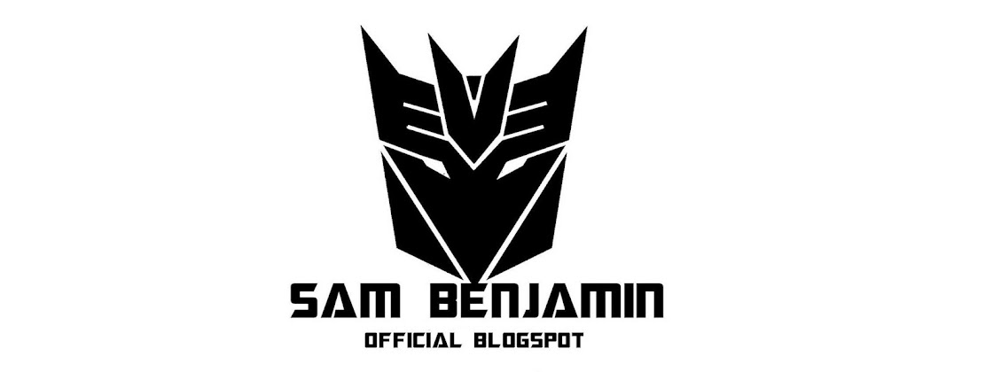 Sam Benjamin Blogspot