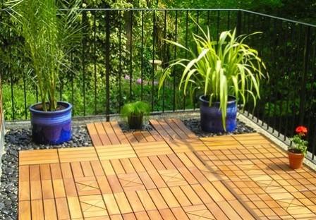 Pavimentos para jard n ideas para decorar dise ar y for Pisos bajos con jardin