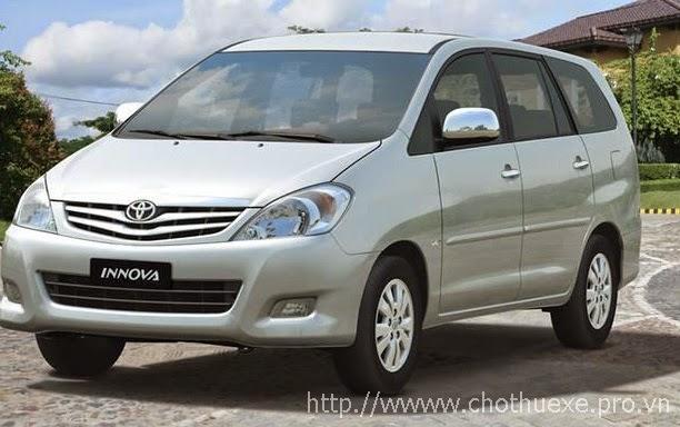 Cho thuê xe Innova giá rẻ
