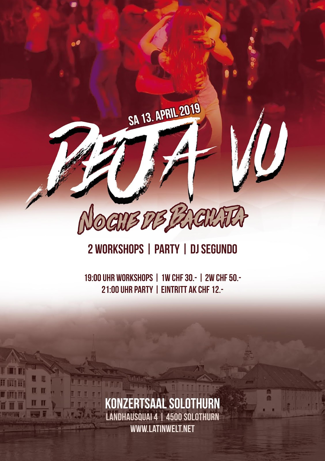 DEJA VU, NOCHE DE BACHATA | SA. 13.04.2019