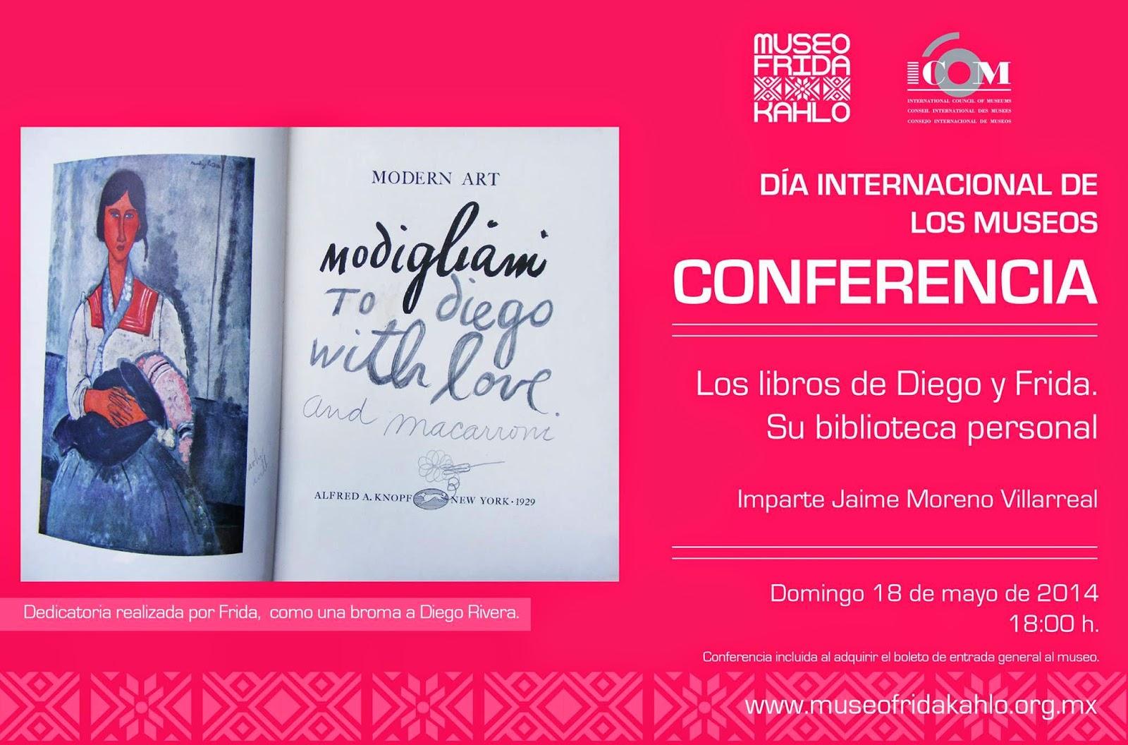 Día Internacional de los Museos en el Museo Frida Kahlo