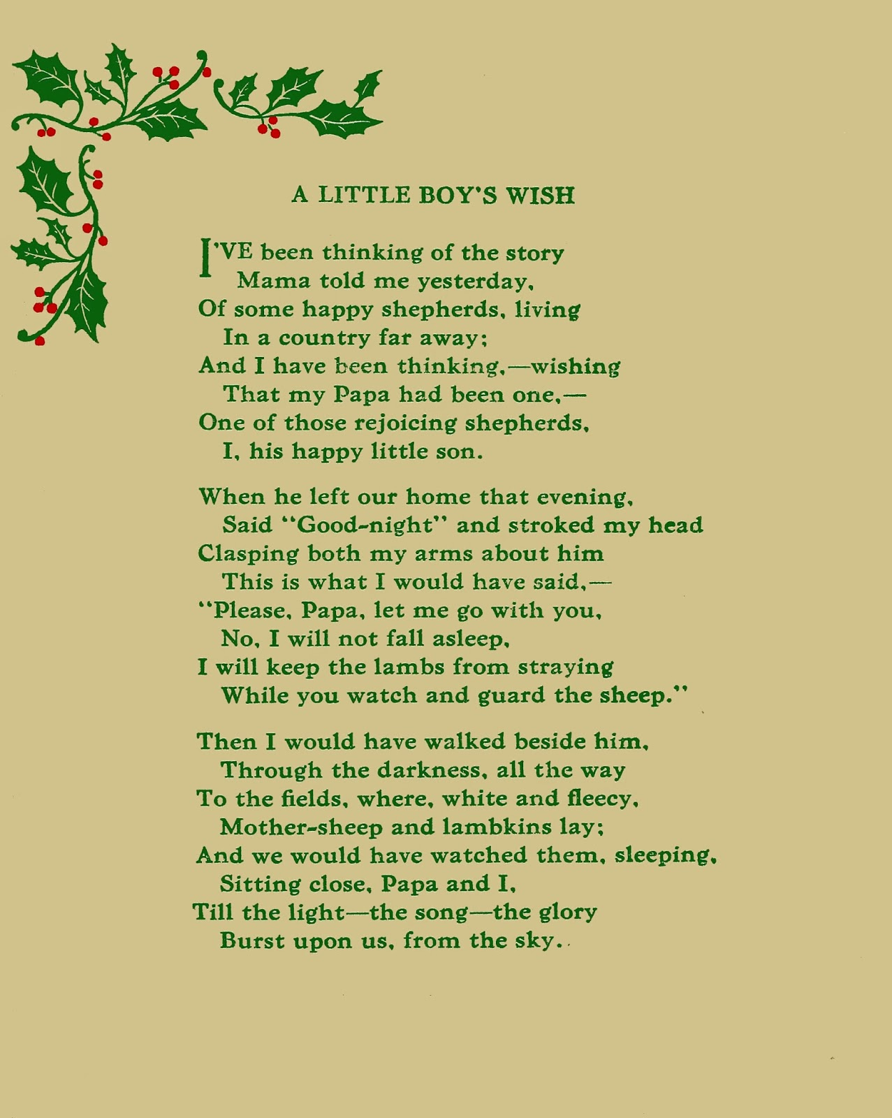 photograph about Christmas in Heaven Poem Printable named An additional ideal Xmas poem