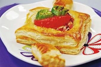 Milföy Salamlı börek Tarifi ve Yapımı