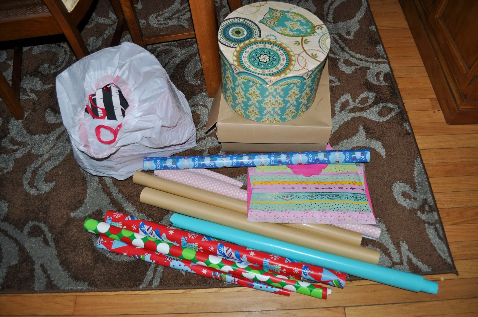 target gift wrap station, gift wrap station, organization, wrapping paper, under the bed storage