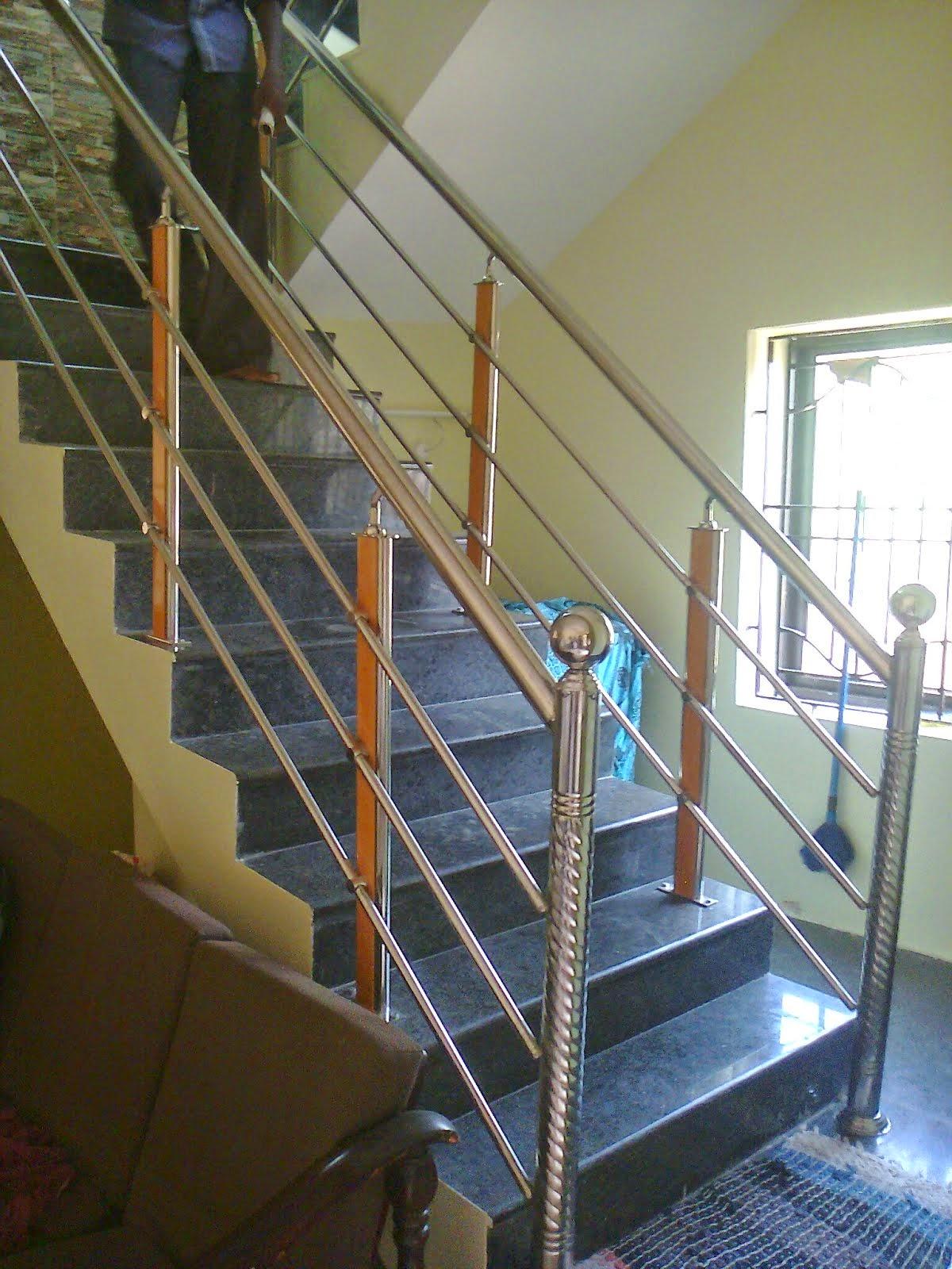 Front Elevation Railing : R k n associatescomplete tile corner design protection