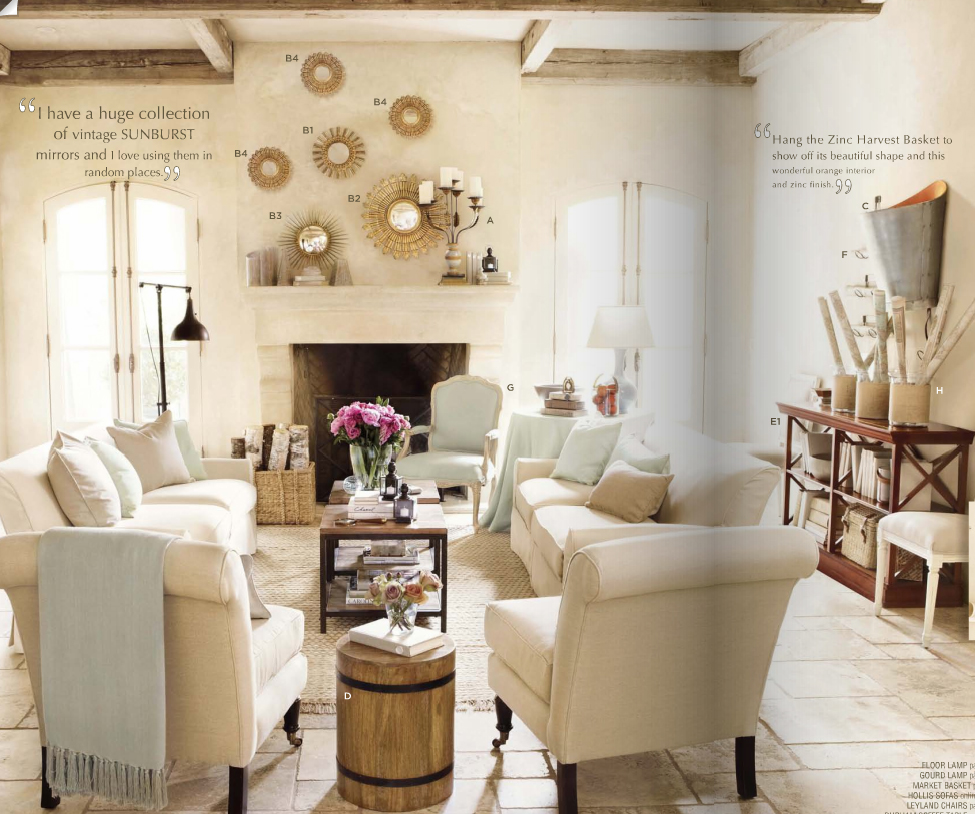 Rustic Modern Living RoomModern House