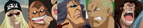 กลุ่มโจรสลัดผมแดงที่ยังไม่ปรากฏชื่อ @ One Piece