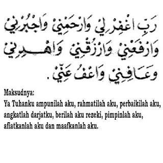 Doa Duduk Antara Dua Sujud dalam Shalat (Duduk Iftirasy)