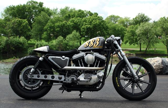 Harley Davidson  quot Caf  233  Racer-883 Special quot Harley Davidson 883 Cafe Racer