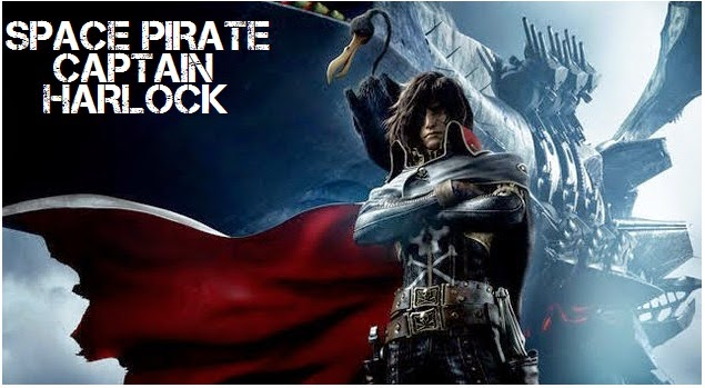 Space Pirate Captain Harlock 2013 MOVIE Review - …