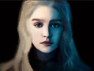 hbo daenerys targaryen poster