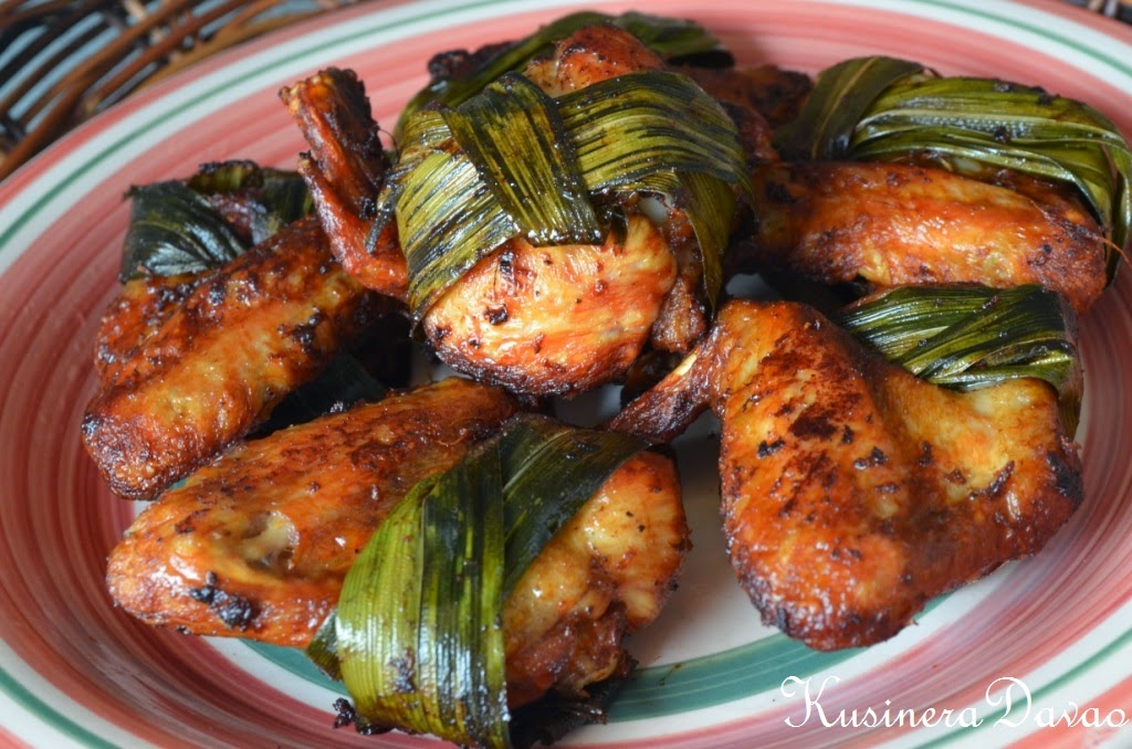 Fried Chicken Barbecue in Pandan Leaves | KUSINERA DAVAO
