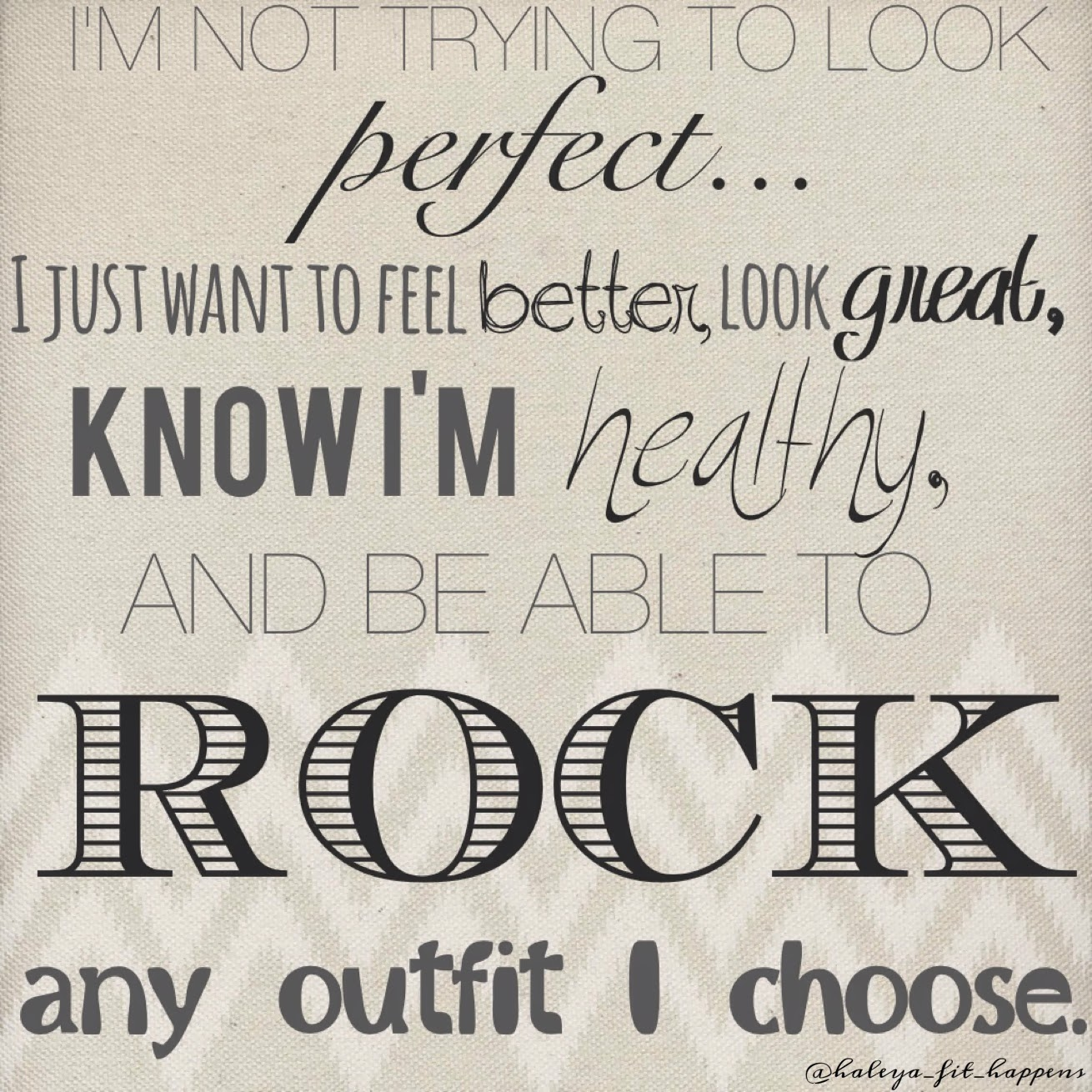 ROCK that outfit!