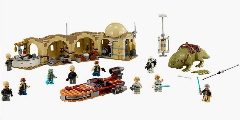 Lego Star Wars, Cantina de Mos Eisley montada