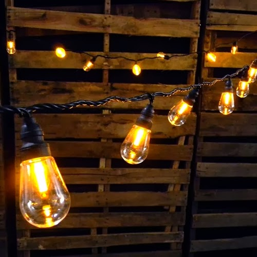 Edison String Lights Outdoor : LET S STAY: Edison String Light & Pendants