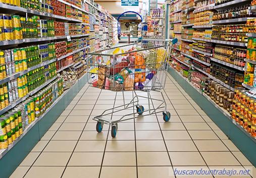 trabajo en supermercados