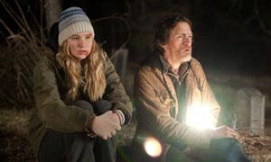 Jennifer Lawrence y John Hawkes en Winter's Bone