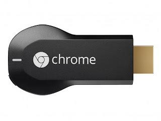 ChromeCastconvirtiendo la Tv en inteligente