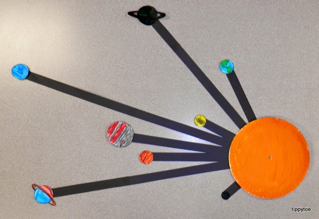 paper solar system - photo #11