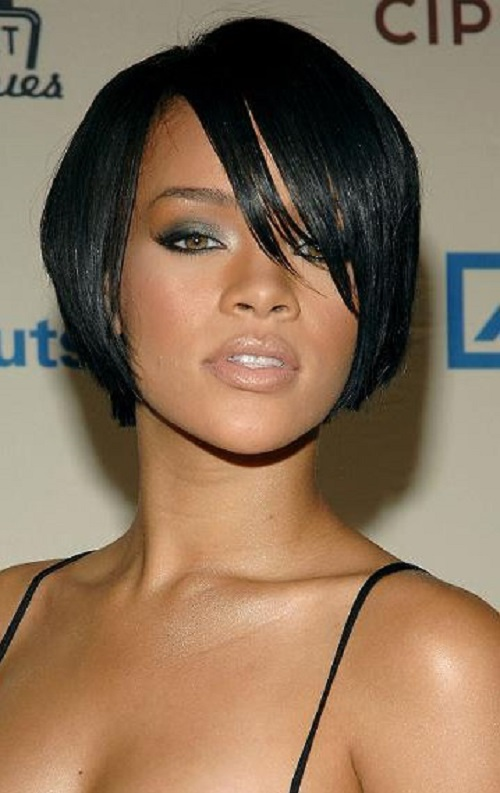 to be in straight short hair you can see rihanna short hairstyles that