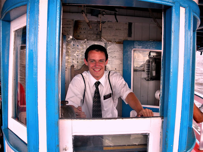 Elder Mitchell Tenney on the Amazon River - 23 December 2009