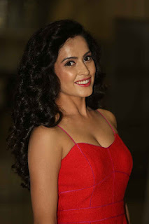 Disha Pandey Pictures in Short Dress at Ctrl C Movie Audio Launch ~ Celebs Next