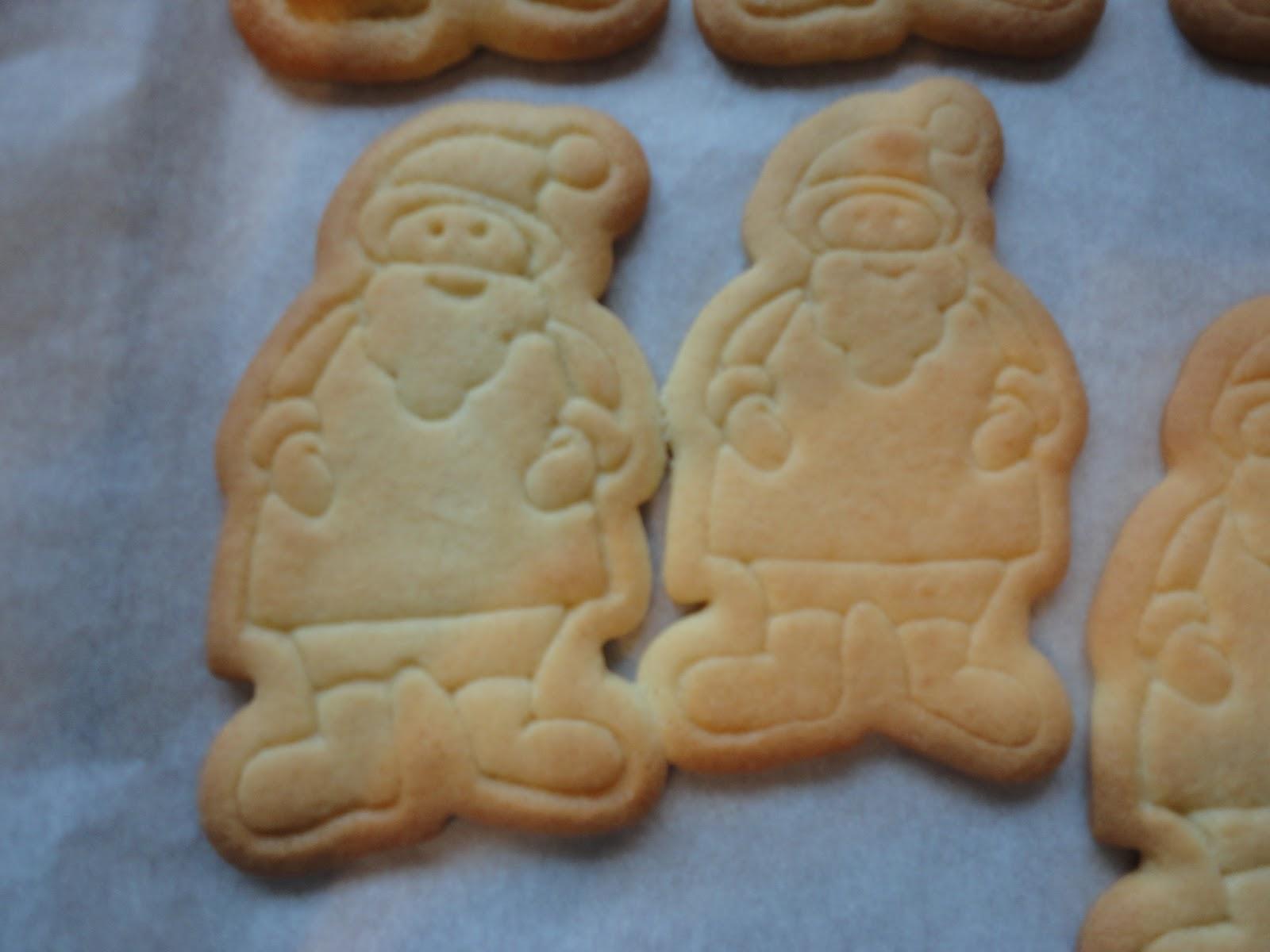 Babaduck Santa Butter Cookies