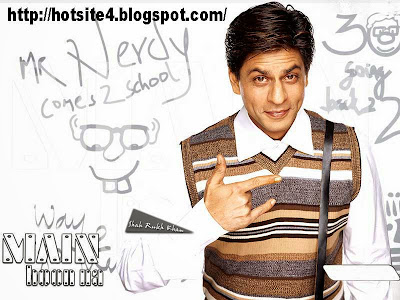 Shahrukh Khan In Main Hoon Na Style Hd Wallpaper - Main Hoon Na Movie Hd Wallpaper