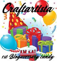 1st Blogaversary candy