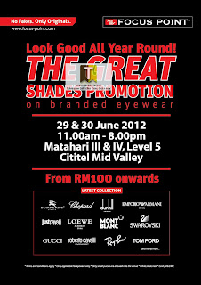 Focus Point The Great Shades Promotion