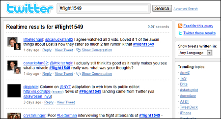 hashtag twitter 2012